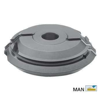 Porte outils bouvetage d\'angle a 45° diametre 170X40X50
