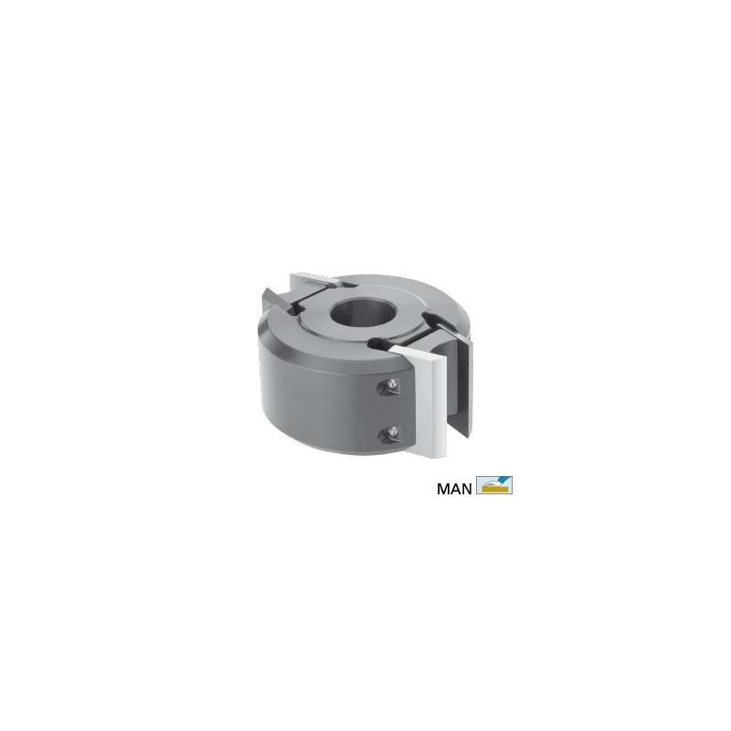 Security profile cutterhead dia. 100 mm height 50 for spindle moulder bore 30 mm