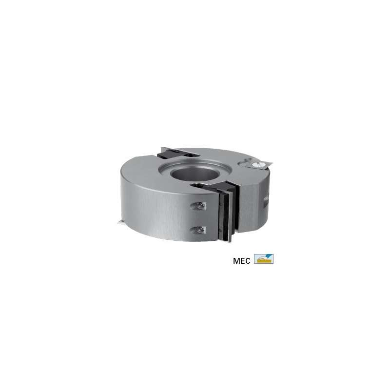 Profile cutterhead dia. 100 mm height 50 for spindle moulder bore 30 mm