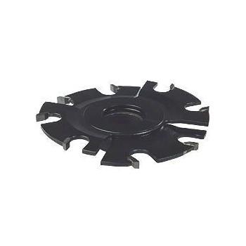 Fraise à rainure extensible 5 à 10 mm - 8 coupes carbure Ø 120 mm - Al 30 mm (Holzprofi)