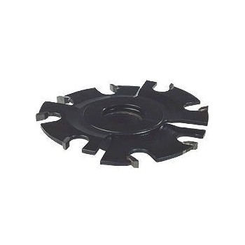 Fresa per incastri dia 120 mm regolabili 5-10 mm - 8 taglienti