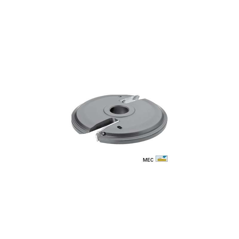 Panel raising cutter dia. 160 mm with TC reversible blades