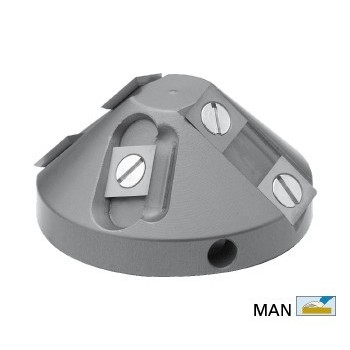 45° chamfer cutter head with screw M16