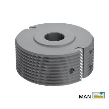 Wechselplatten-Spitzverleimfräser für Fräsmaschine 50 mm