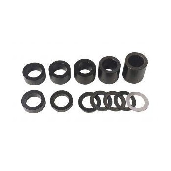 Rings for spindle moulder's shaft bore 30 mm height 130 mm (set of 10)