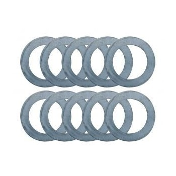 Millimeter rings for spindle moulder bore 30 mm (set of 10)