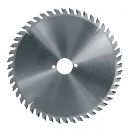Hoja de sierra circular diámetro 160 mm eje 20 mm - 48 dientes trapez para MDF y paneles