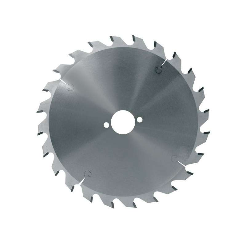 Lame circulaire carbure dia. 165x2.8x20 Z24 denture alternée (pro)