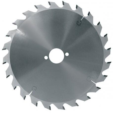 Hoja de sierra circular diámetro 165 mm eje 20 mm - 24 dientes