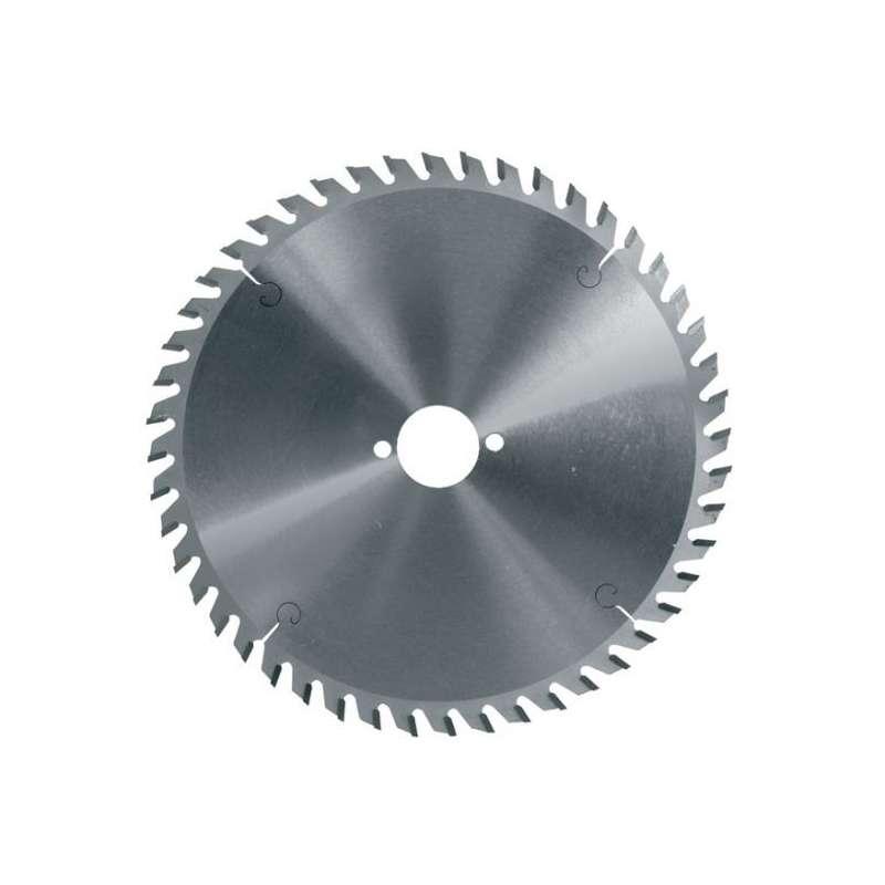Hoja de sierra circular diámetro 165 mm eje 20 mm - 48 dientes Trapez. neg. para metales No-Férreos
