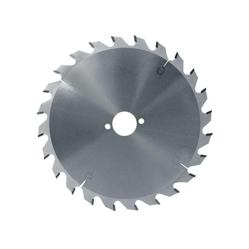 Lame circulaire carbure dia 216 mm - 24 dents alternées négatives (pro)
