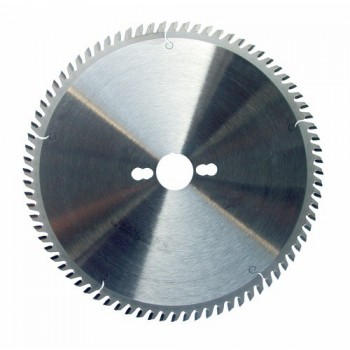 Hoja de sierra circular diámetro 250 mm - 80 dientes Trapez. neg. para metales No-Férreos