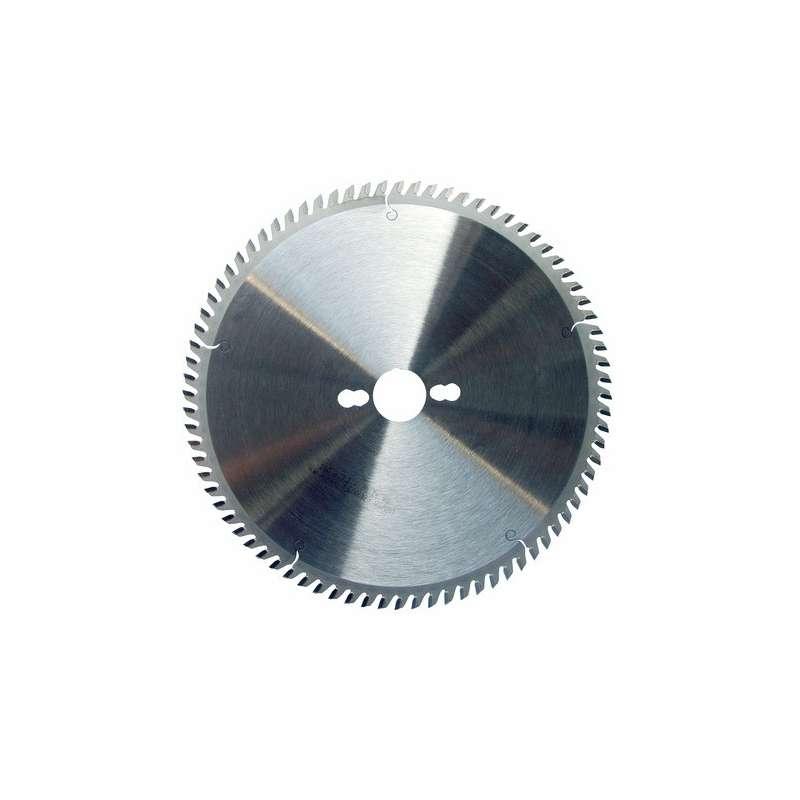 Lama per sega circolare 250 mm - 80 denti trapez. neg. per metalli non ferrosi