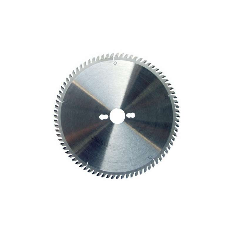 Lame circulaire carbure dia 250 mm- 80 dents trapézoidales pour mélaminé (pro)