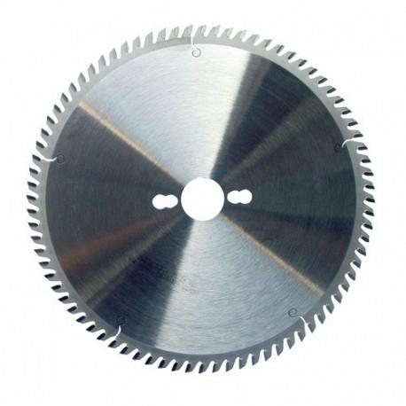 Lame circulaire carbure dia 255 mm - 80 dents trapézoidales nég. pour ALU (pro)