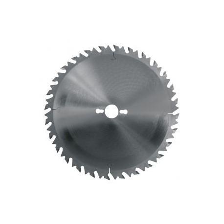 Lame circulaire carbure dia. 260x3.2x30 Z24 denture alternée anti-recul (pro)