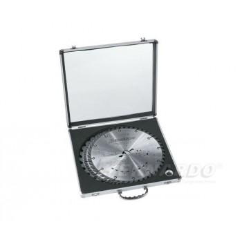 Coffret de 3 lames circulaire carbure dia. 300 mm spécial bois (bricolage)