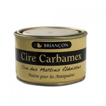Cire Briançon carbamex en pate, boite de 400 g - Colori merisier