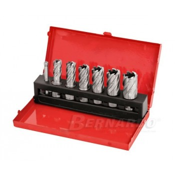 Milling cutters HSS annular dia 14-24 mm, Prof. 25 mm - box 6 PCs