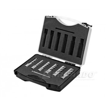 Milling cutters HSS annular dia 14-24 mm, Prof. 50 mm - box 6 PCs