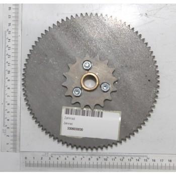 Roue métalllique d'embrayage pour dégau 638 (repères 503-504-505-506)