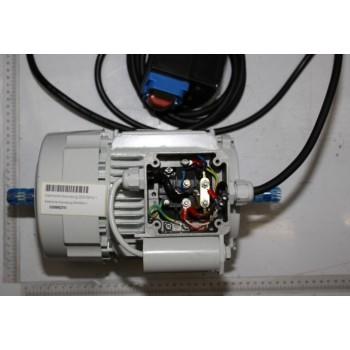 Motor 230V mit 2 Ausgängen für alte Maschine Kity - 1500W