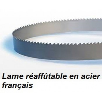 Lame de scie à ruban réaffûtable 2180X20X0.5 mm pour le débit (scie Rondy 750)
