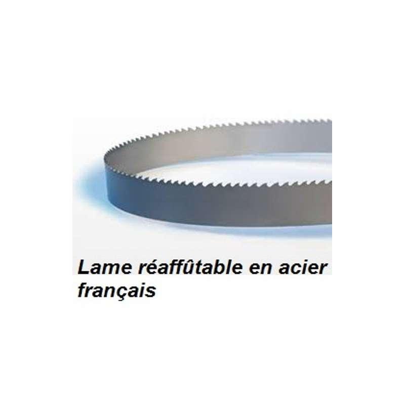 Lame de scie à ruban pour  Kity 613 et Basa 3.0  2300X25X0.5 mm pour le délignage