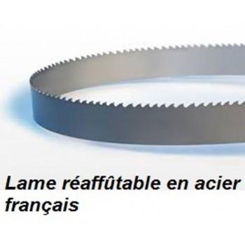 Hoja para sierra de cinta 3865 mm ancho 25 mm espesor 0.6 mm