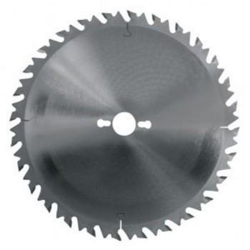 Hoja de sierra circular diámetro 400 mm - 36 dientes con limitador para leña