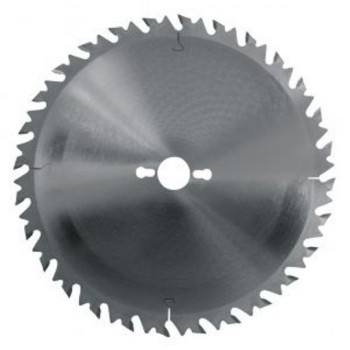 Lama per sega circolare 450 mm - 40 denti con limitatore per sega circolare tronchi