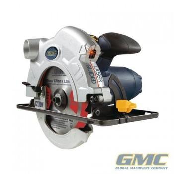 Scie circulaire avec découpe laser GMC diamètre 165 mm - 1200 W