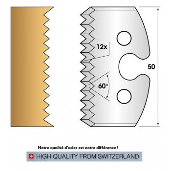 Jeu de 2 fers profiles hauteur  50X5.5 mm n° 203