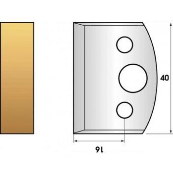 Jeu de 2 fers profiles hauteur  40X4 mm n° 00