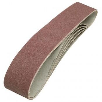 Banda abrasiva 100x915 mm grano 80 para lijadora de banda y disco
