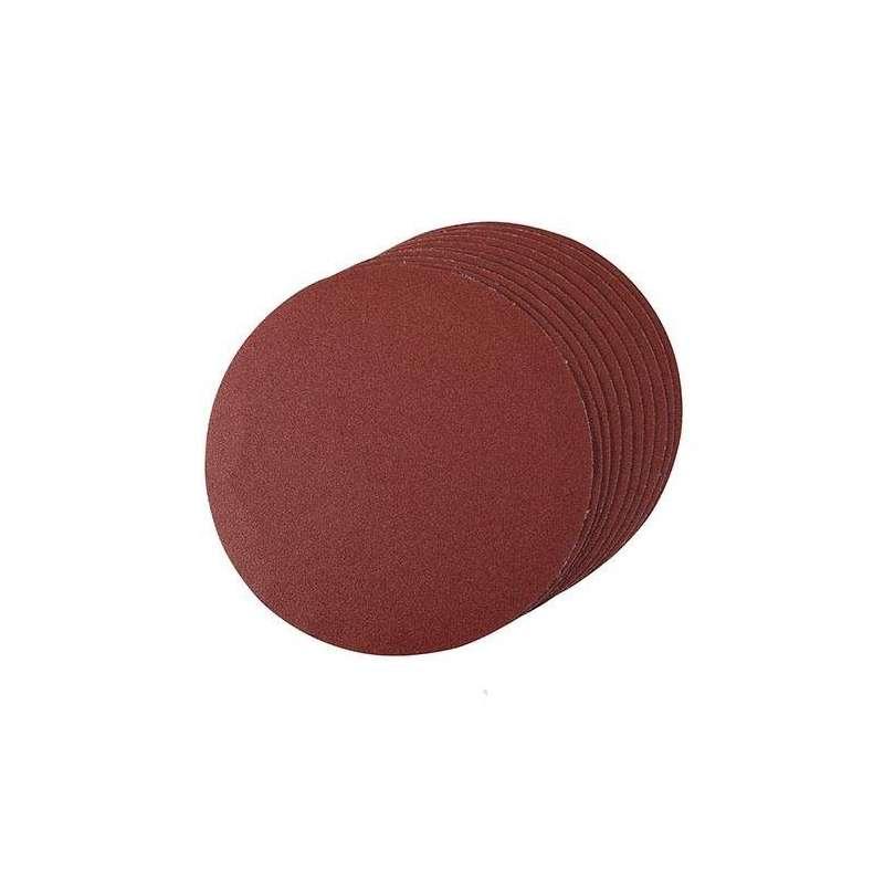 Disque abrasif velcro dia. 150 mm, grain 120, le lot de 10