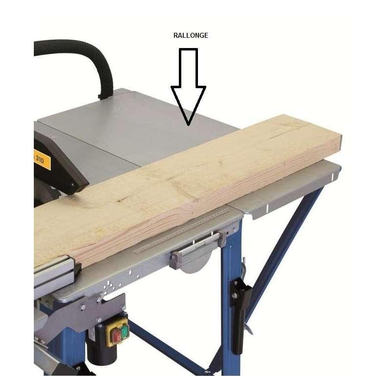 Rallonge de table latérale pour scie ST12, TS30 et TS310