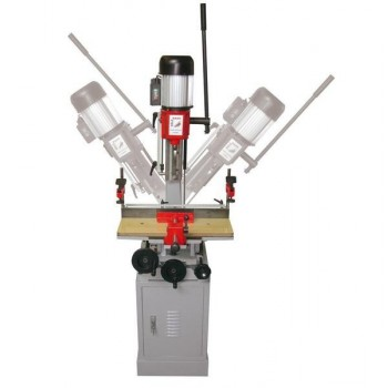 Escopleadora de cincel cuadrado inclinable Holzmann STM26S