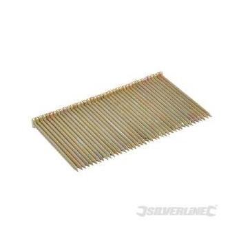 Clavos galvanizados de cabeza T para mampostería de 64 mm (1000)