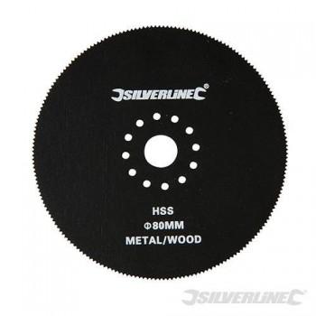 Kreissägeblatt 80mm für multifunktions-werkzeug 10,8 V