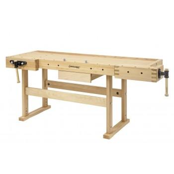 Established joiner 2100 mm beech varnished high-end - Bernardo