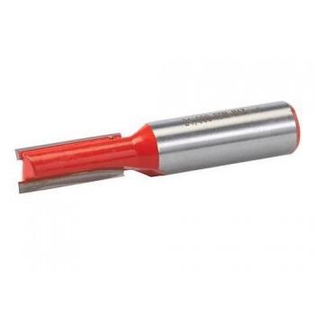 Fresa de corte recto para canales Ø 12 mm - Cola 12.7 mm