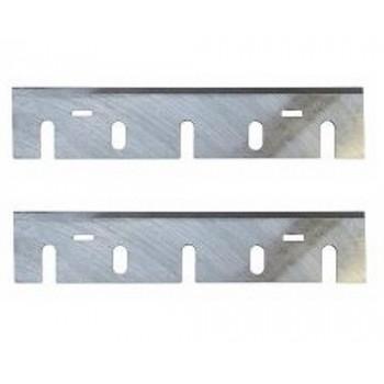 Fers réaffûtables acier (HSS) 170x35x3.0 pour rabot electroportatif Makita 1806B