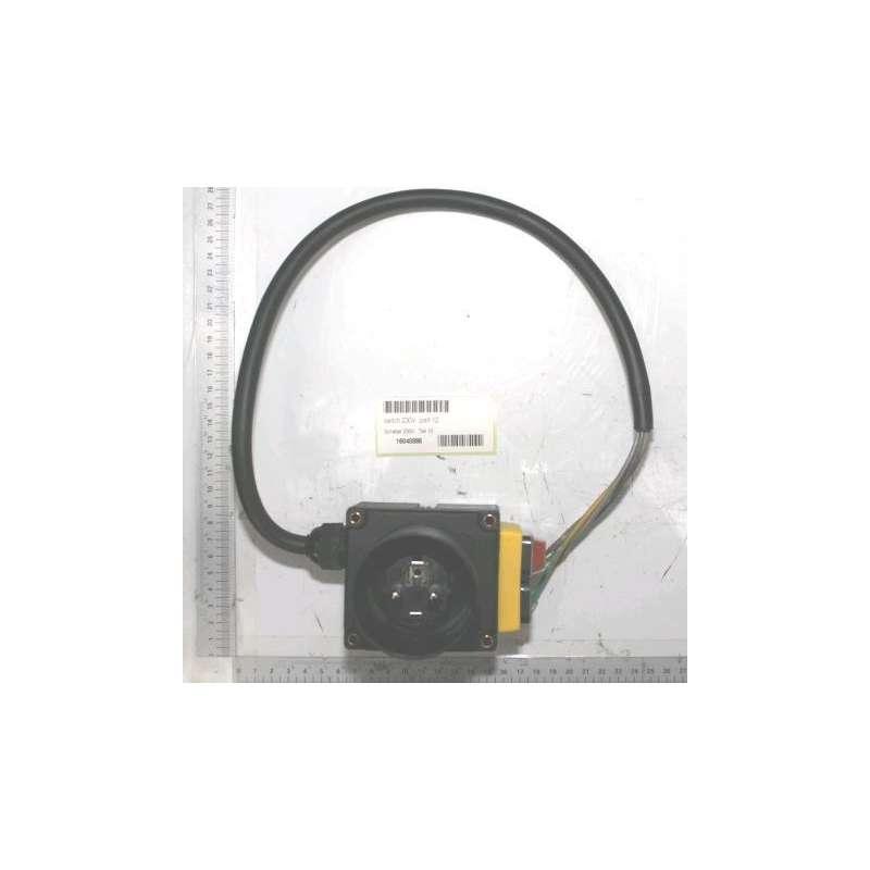 Interruttore 230V per spaccalegna verticale Scheppach HL1010, Woodstar LF90