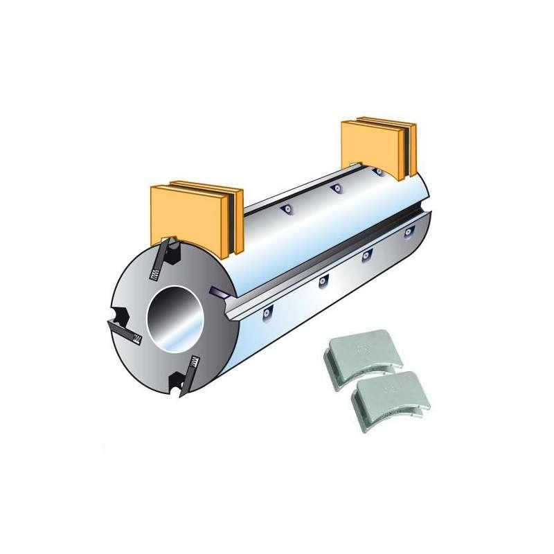 Posizionatore di coltelli magnetico - albero Ø 110 mm