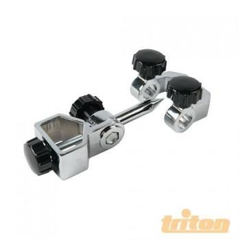 Dispositivo Triton para el afilado de gubias y herramientas de torneado