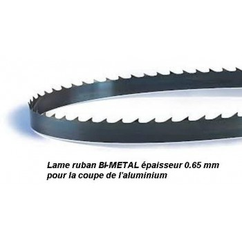 Saw blade tape 1400 mm width 13 Bi-metal for aluminum (Scheppach HBS20, Kity SAR200)