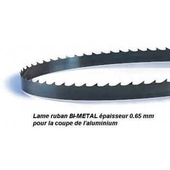 Hoja para sierra de cinta de 1400 mm ancho 13 Bi-metal para aluminio