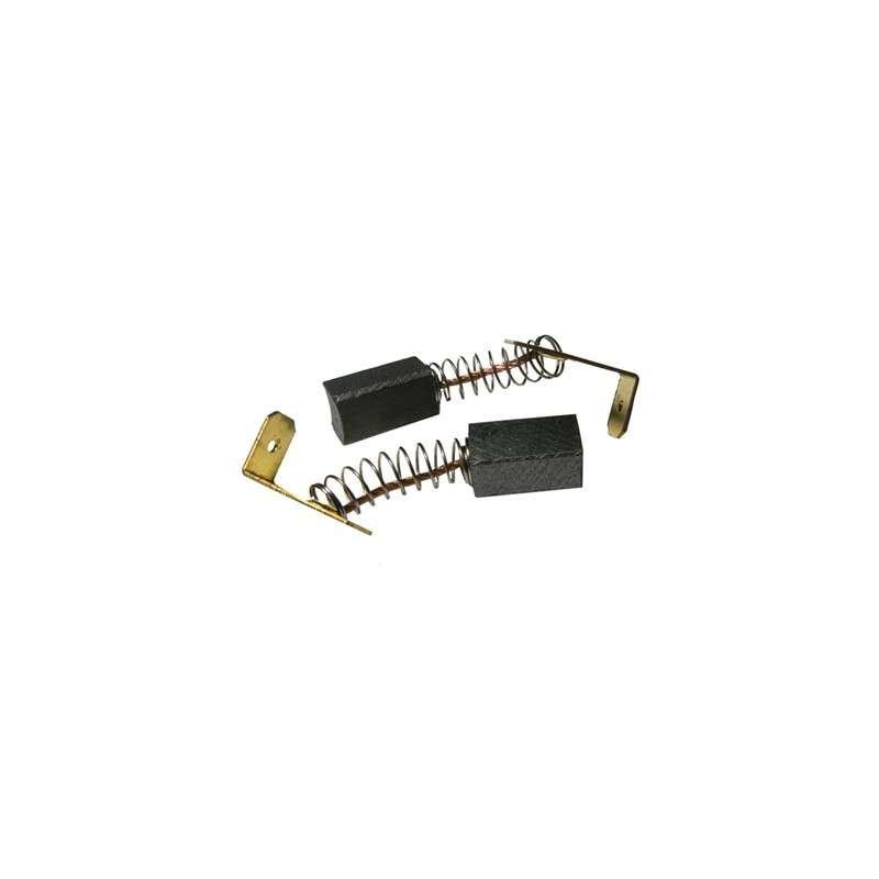 Charbons pour rabot électrique de paume Triton 60 mm