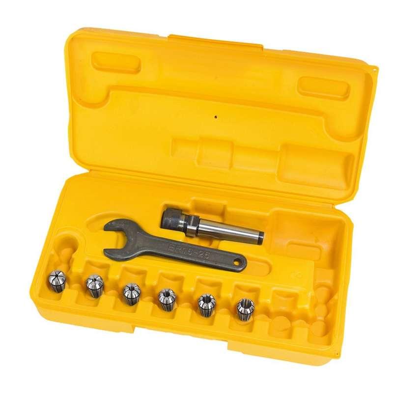 Spannfutter und spannzangen MT2 - 3 bis 10 mm für fräsmaschine